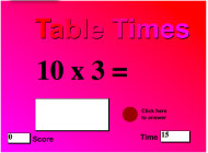 Table Times