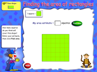 Finding the area of rectangles (FUSE Learning Resource ID: 4PZNGR)
