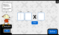 The multiplier: make your own easy multiplications (FUSE Learning Resource ID: 2FXFFX)