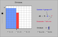 Rectangle Division (FUSE Learning Resource ID: 9ASKFV)